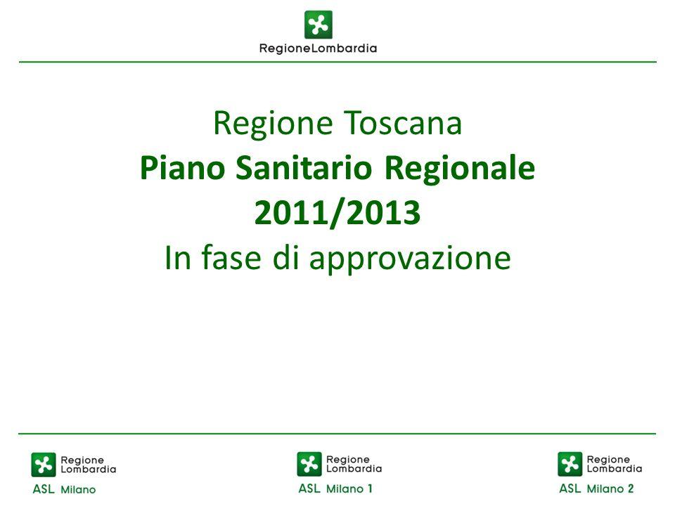Piano Sanitario Regionale 2011/2013
