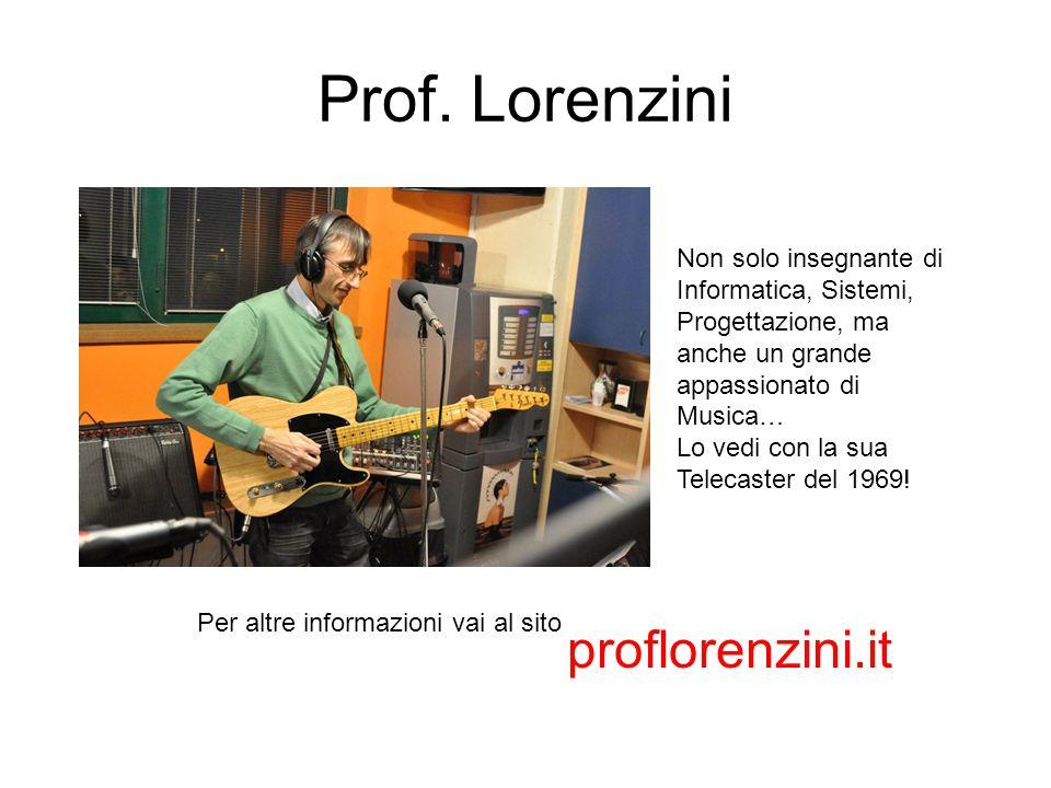 Prof. Lorenzini proflorenzini.it