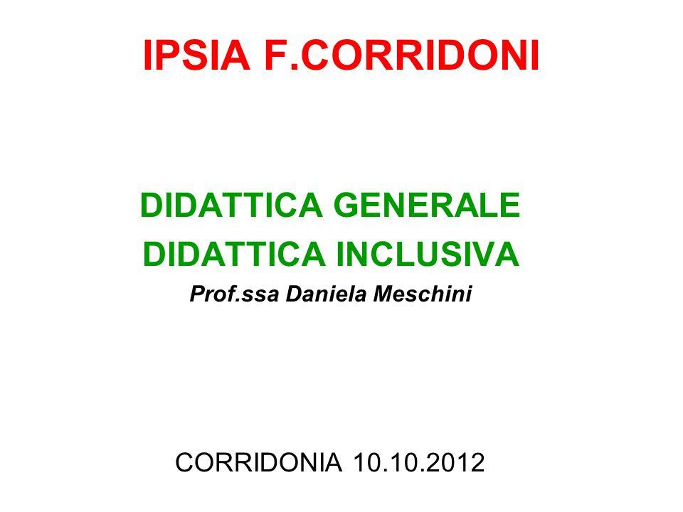 Prof.ssa Daniela Meschini