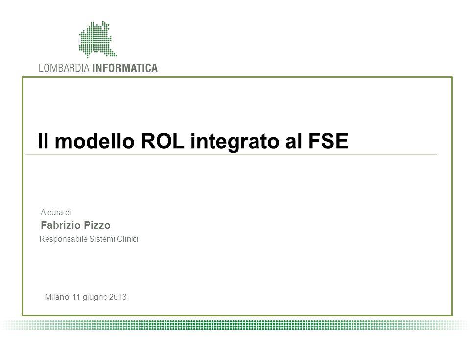 Il modello ROL integrato al FSE