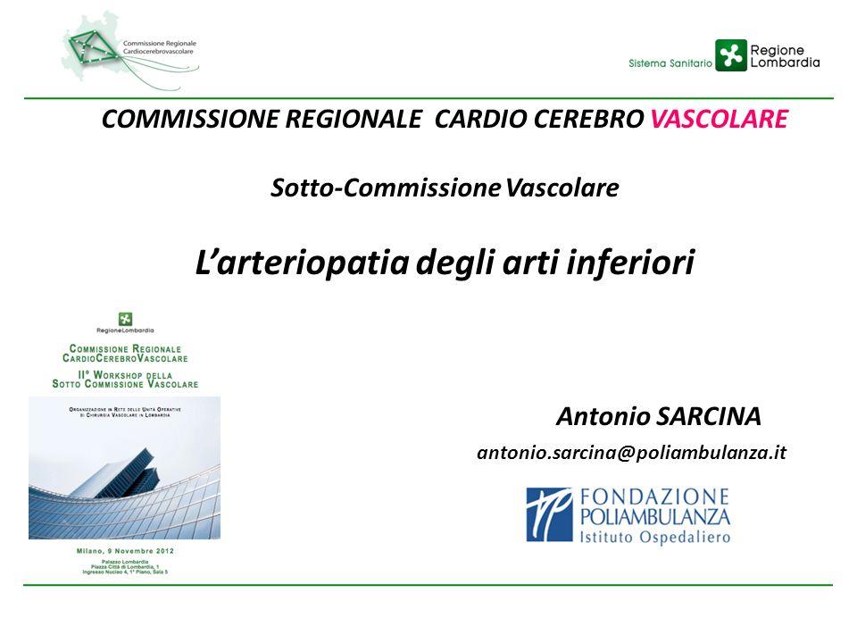 L'arteriopatia degli arti inferiori