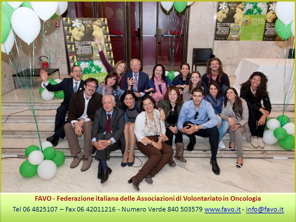 FAVO - Federazione italiana delle Associazioni di Volontariato in Oncologia
