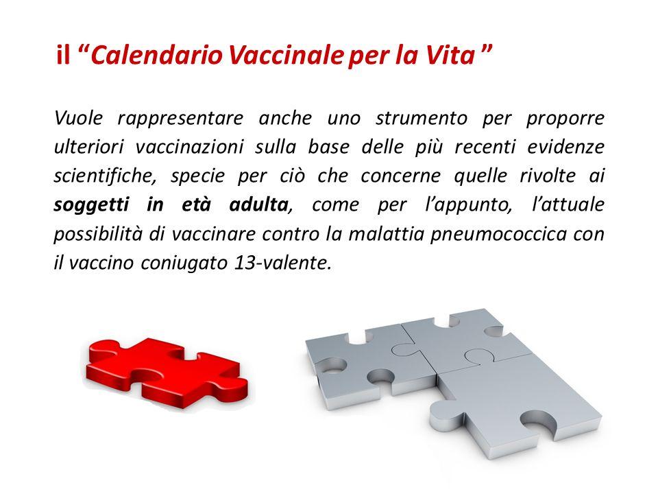 il Calendario Vaccinale per la Vita