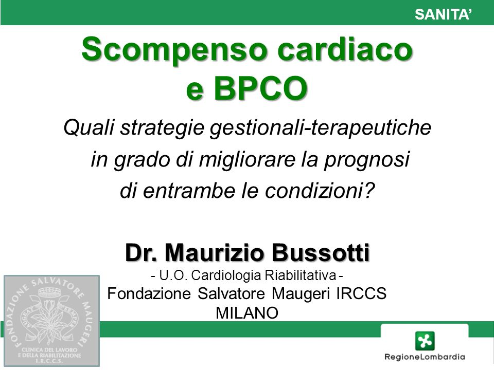 Scompenso cardiaco e BPCO