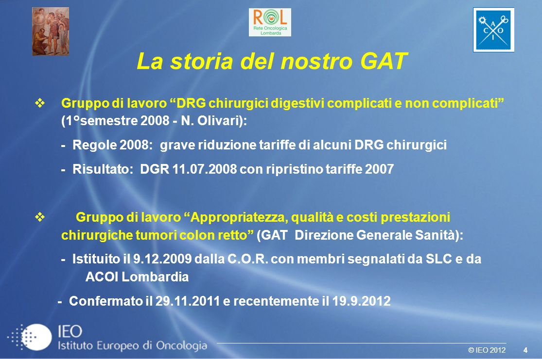 La storia del nostro GAT