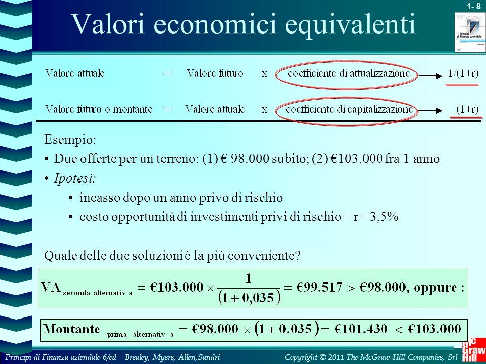 Valori economici equivalenti