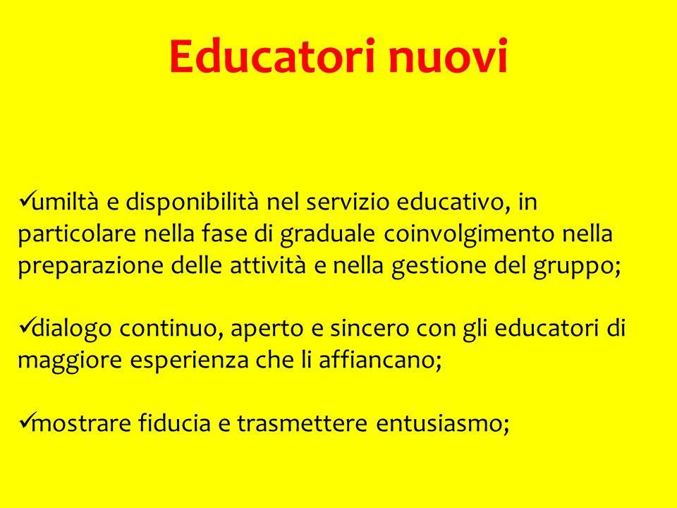 Educatori nuovi