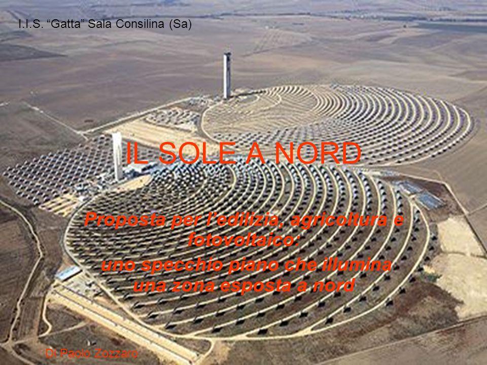 IL SOLE A NORD Proposta per l'edilizia, agricoltura e fotovoltaico: