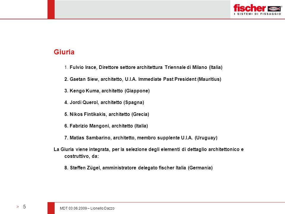 Giuria 1. Fulvio Irace, Direttore settore architettura Triennale di Milano (Italia)