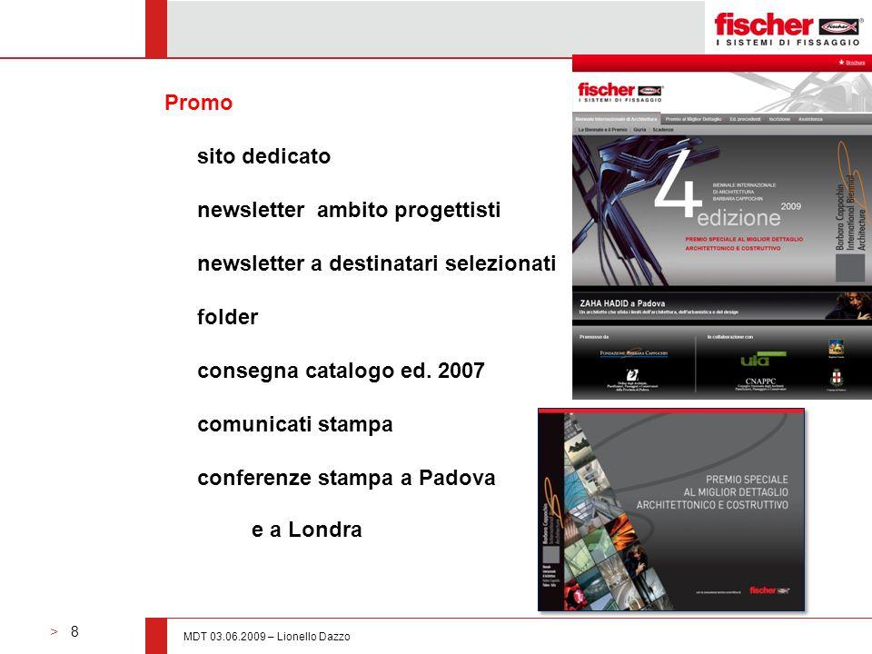 newsletter ambito progettisti newsletter a destinatari selezionati