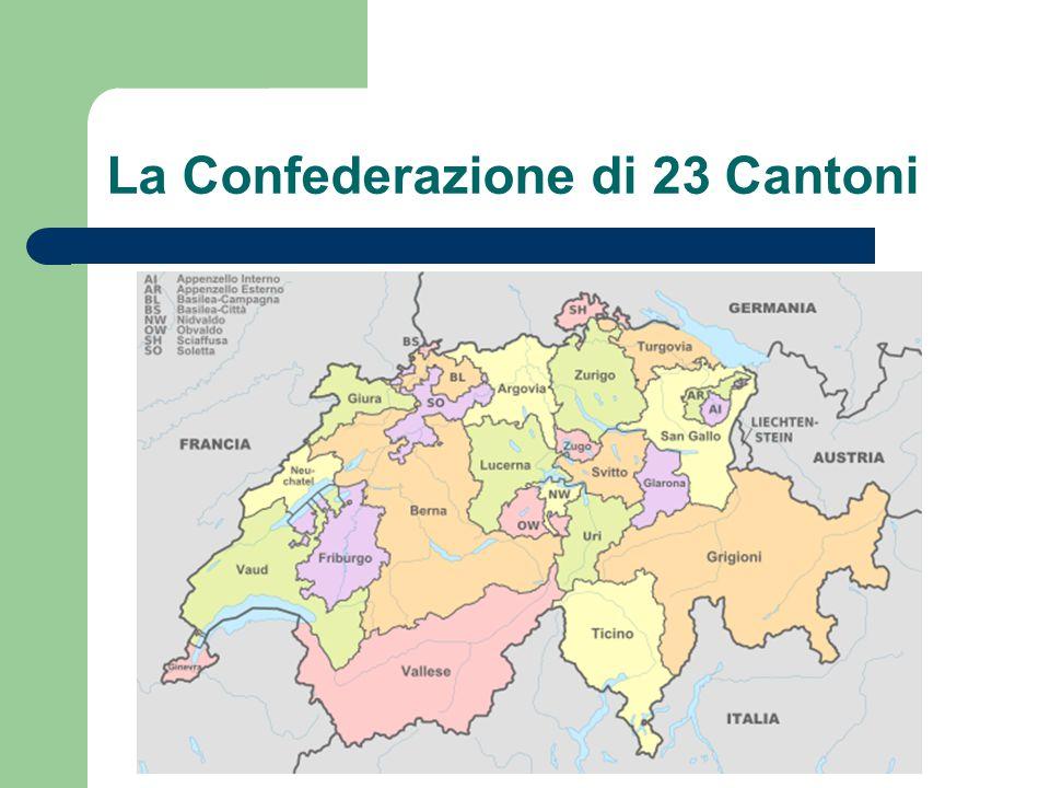 La Confederazione di 23 Cantoni