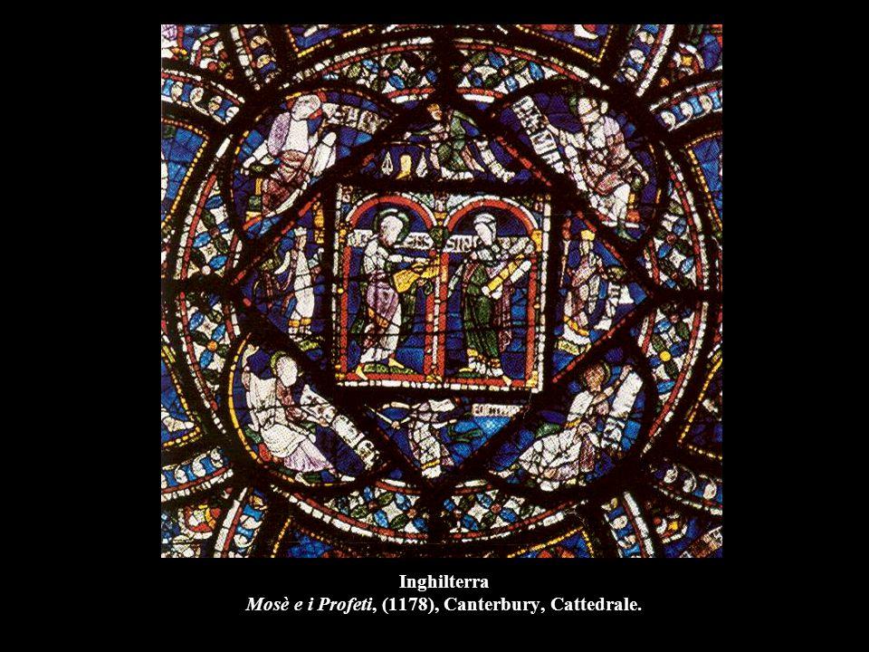 Inghilterra Mosè e i Profeti, (1178), Canterbury, Cattedrale.