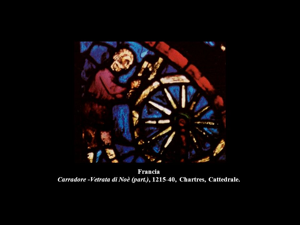 Francia Carradore -Vetrata di Noè (part
