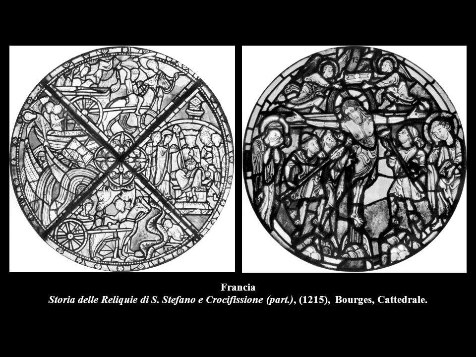 Francia Storia delle Reliquie di S. Stefano e Crocifissione (part