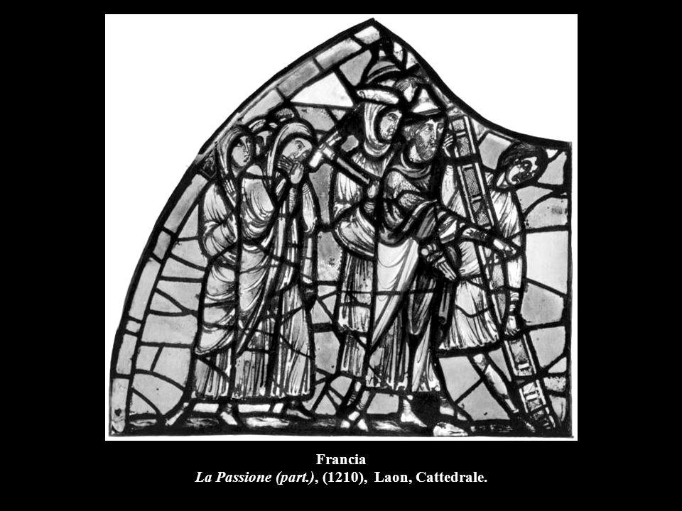Francia La Passione (part.), (1210), Laon, Cattedrale.