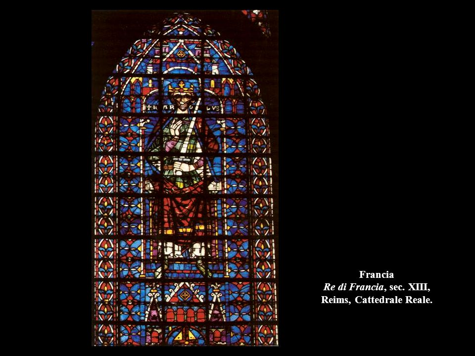 Francia Re di Francia, sec. XIII, Reims, Cattedrale Reale.