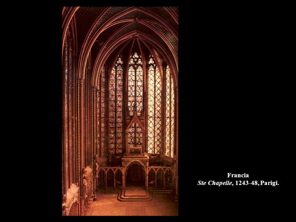 Francia Ste Chapelle, 1243-48, Parigi.