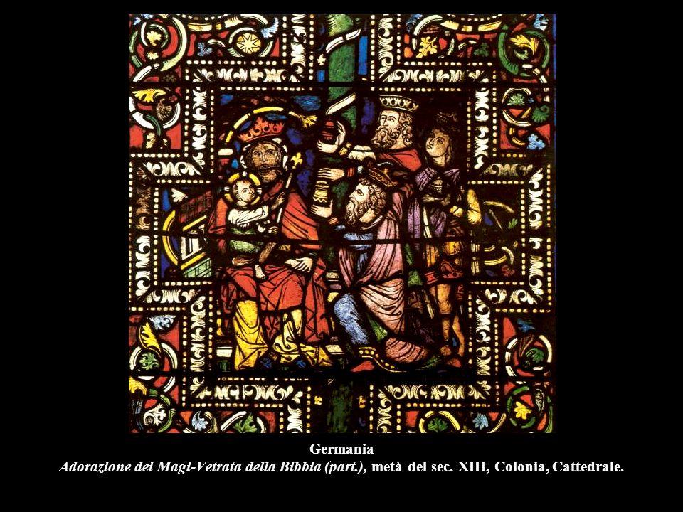 Germania Adorazione dei Magi-Vetrata della Bibbia (part