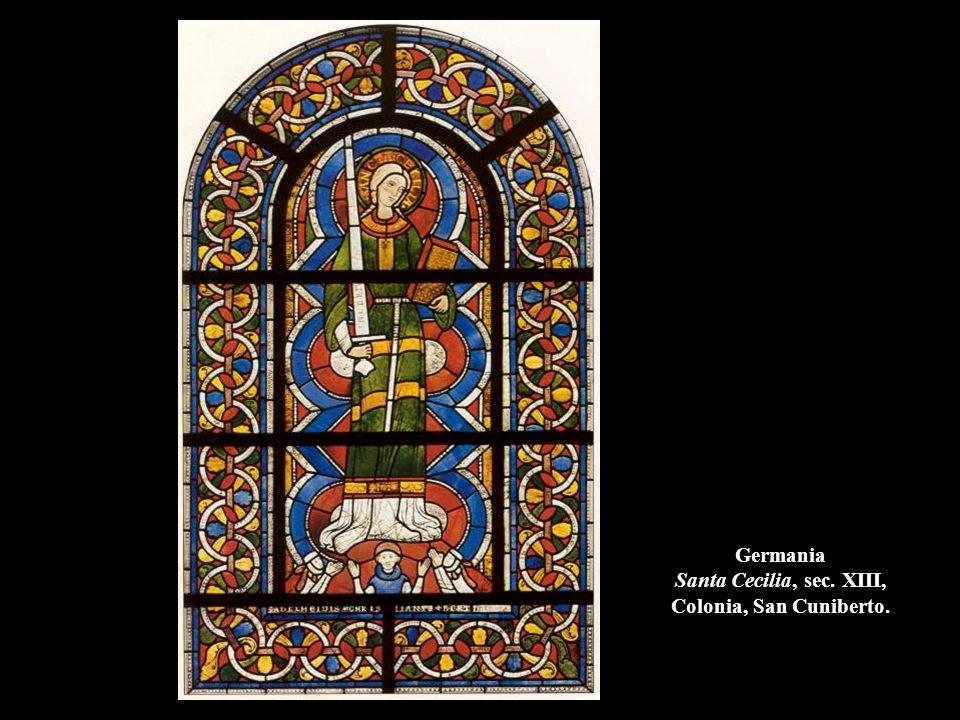 Germania Santa Cecilia, sec. XIII, Colonia, San Cuniberto.