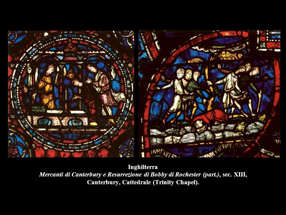 Inghilterra Mercanti di Canterbury e Resurrezione di Bobby di Rochester (part.), sec.