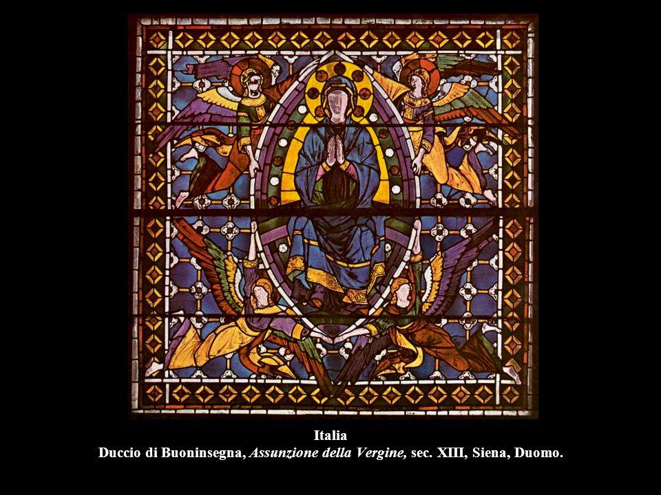 Italia Duccio di Buoninsegna, Assunzione della Vergine, sec