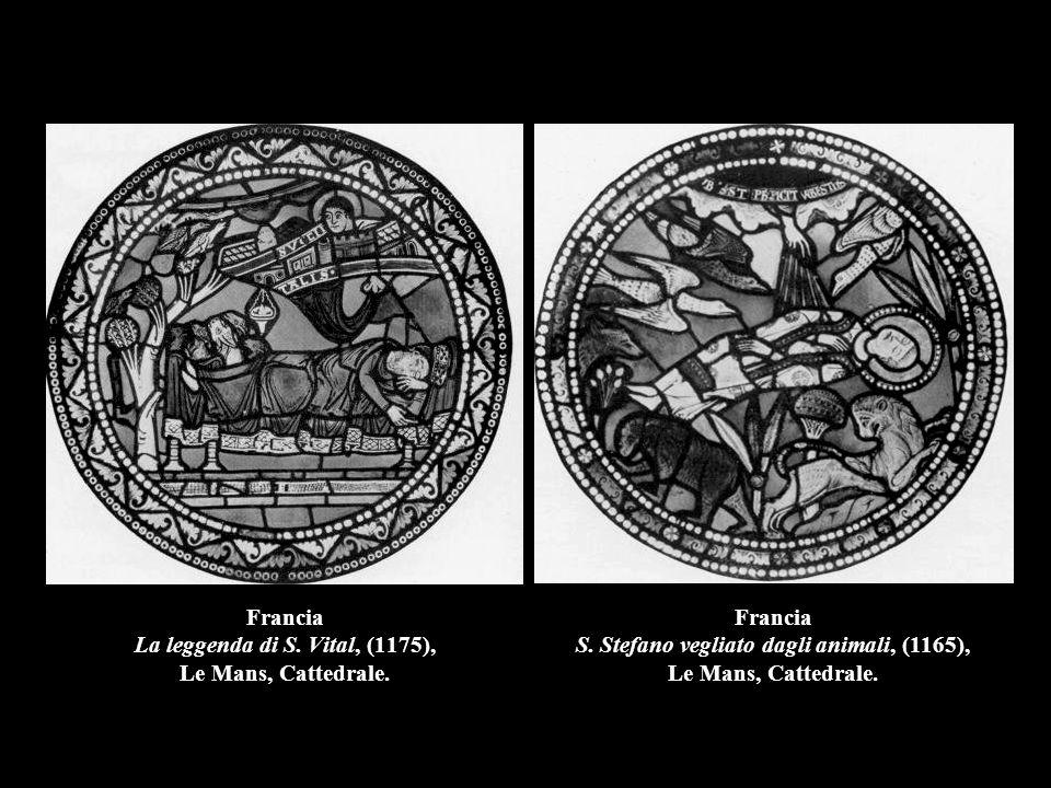 Francia La leggenda di S. Vital, (1175), Le Mans, Cattedrale.