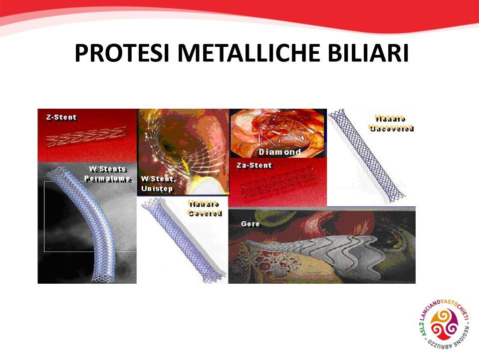 PROTESI METALLICHE BILIARI