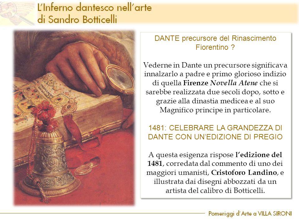 DANTE precursore del Rinascimento Fiorentino