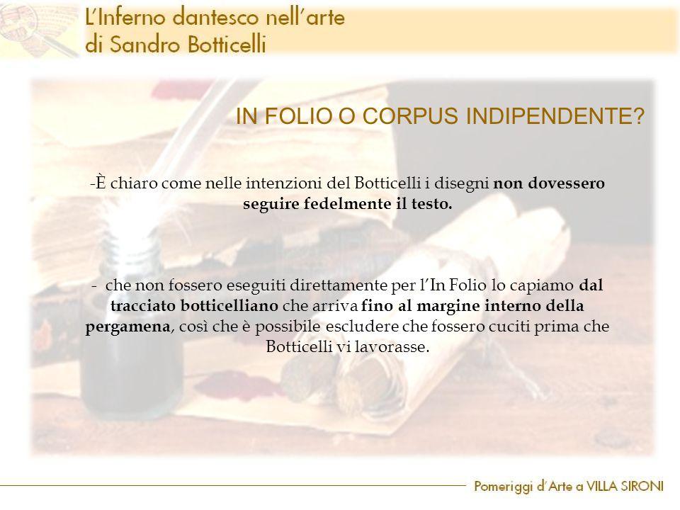 IN FOLIO O CORPUS INDIPENDENTE