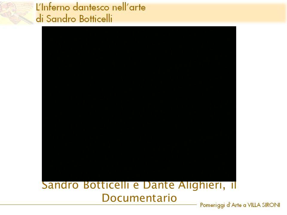 Sandro Botticelli e Dante Alighieri, il Documentario