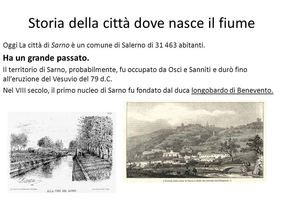 Storia della città dove nasce il fiume