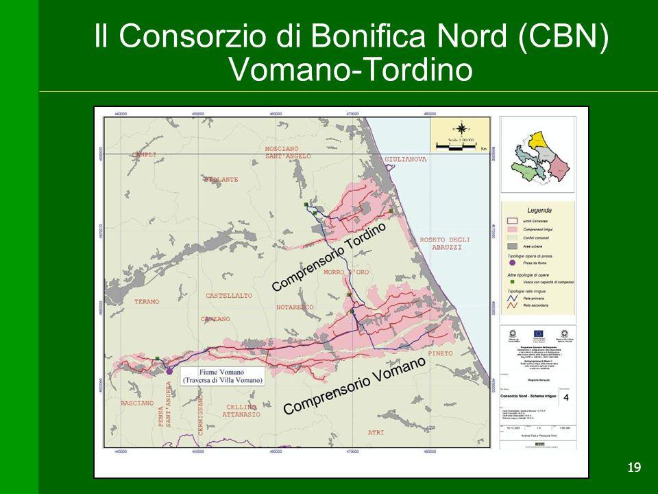 Il Consorzio di Bonifica Nord (CBN) Vomano-Tordino