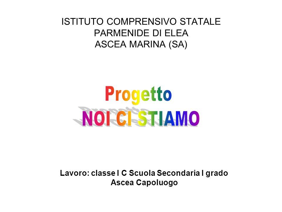 ISTITUTO COMPRENSIVO STATALE PARMENIDE DI ELEA ASCEA MARINA (SA)