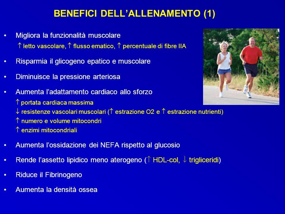 BENEFICI DELL'ALLENAMENTO (1)