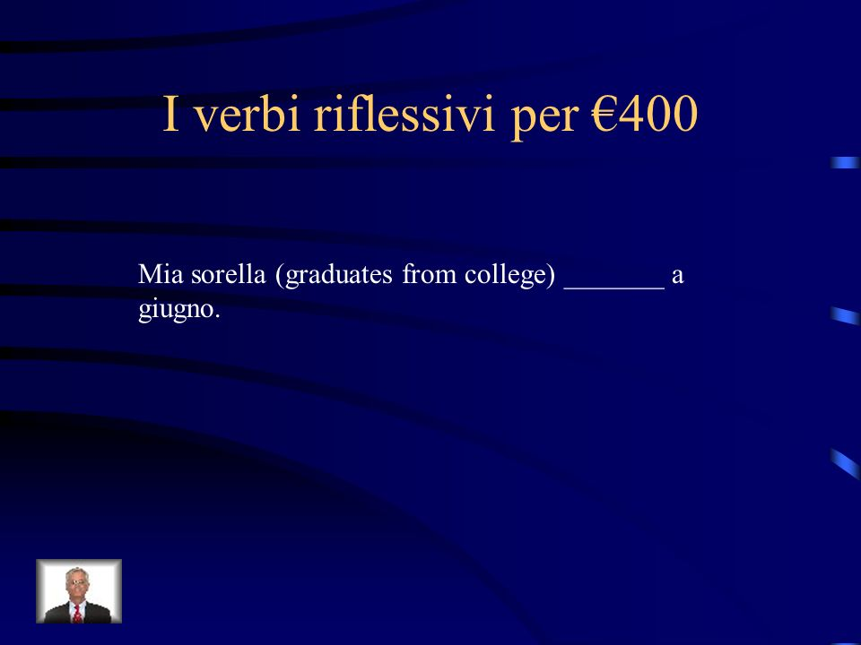 I verbi riflessivi per €400