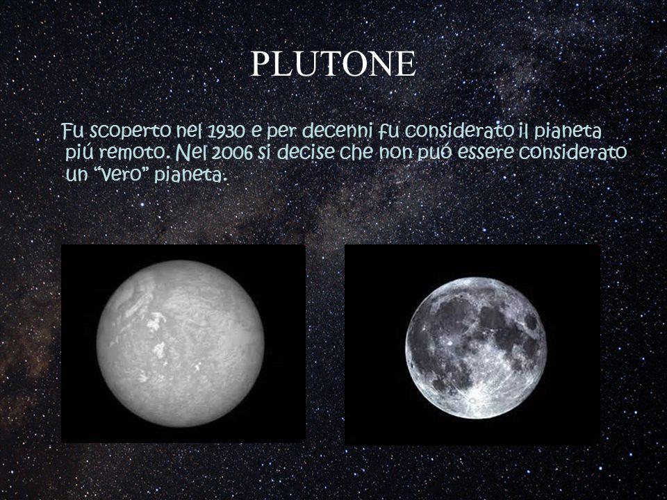 PLUTONE Fu scoperto nel 1930 e per decenni fu considerato il pianeta piú remoto.