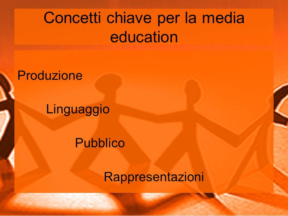 Concetti chiave per la media education