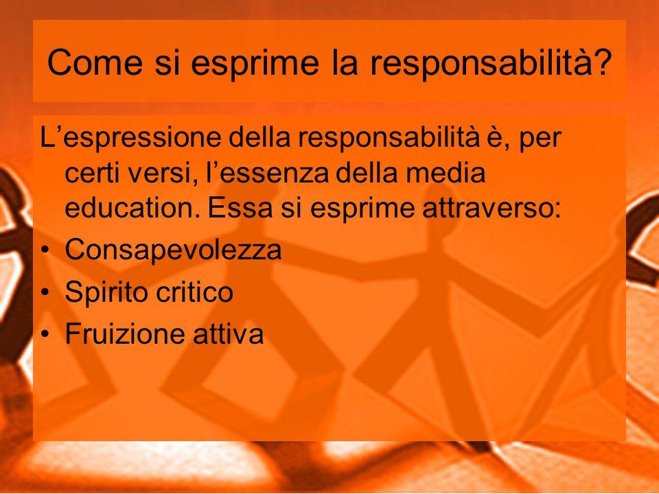 Come si esprime la responsabilità