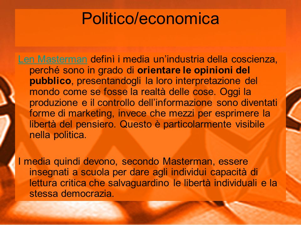 Politico/economica
