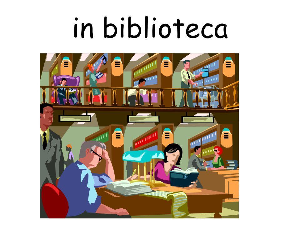 in biblioteca