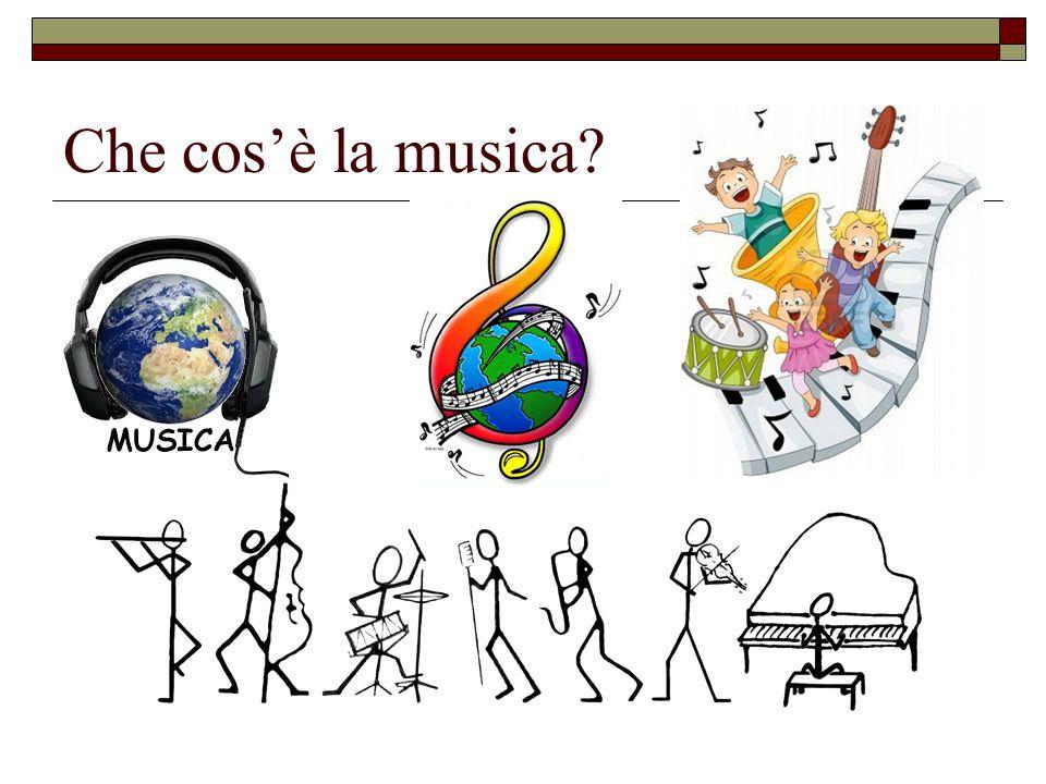 Che cos'è la musica