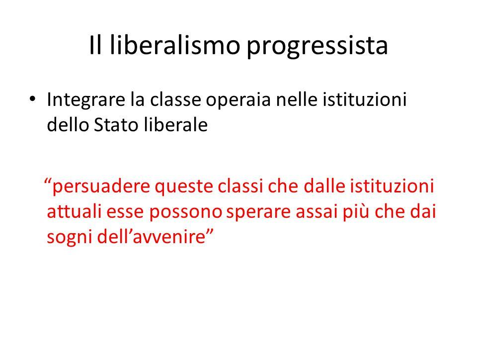 Il liberalismo progressista