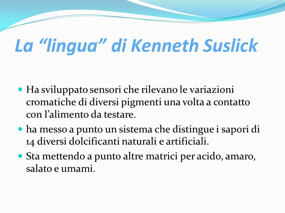 La lingua di Kenneth Suslick
