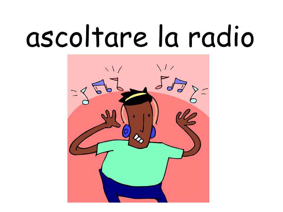 ascoltare la radio