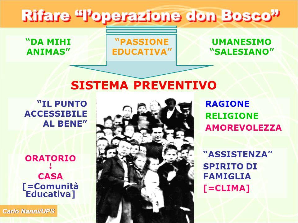 Rifare l'operazione don Bosco