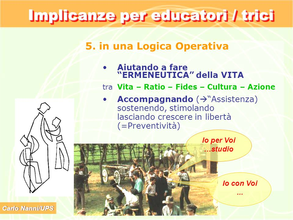 Implicanze per educatori / trici