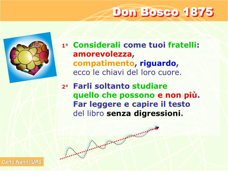 Don Bosco 1875 amorevolezza, compatimento, riguardo,