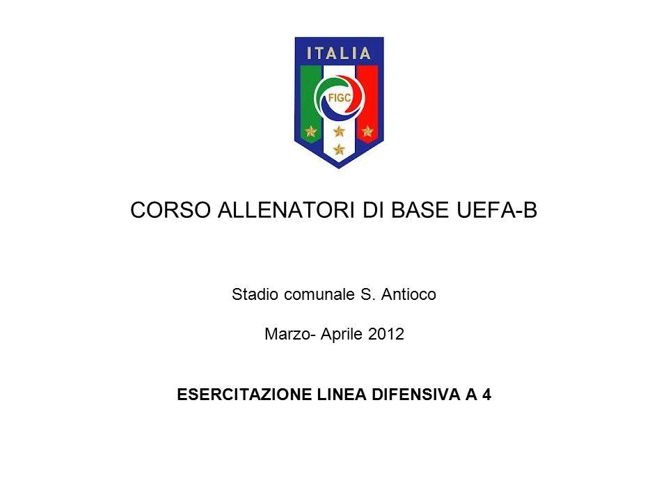 CORSO ALLENATORI DI BASE UEFA-B