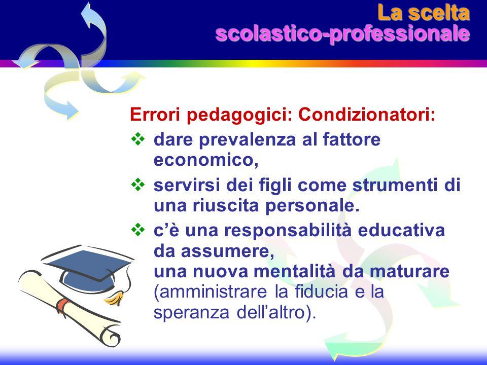 La scelta scolastico-professionale