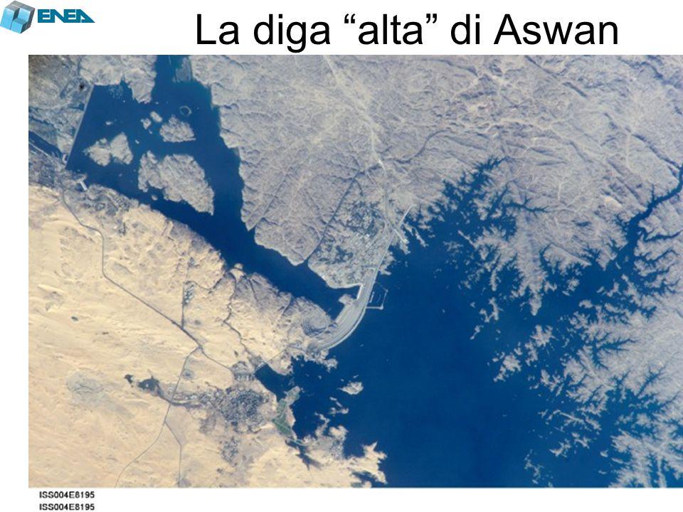La diga alta di Aswan